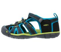 SEACAMP II CNX Trekkingsandale black/blue danube