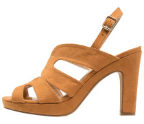 High Heel Sandaletten tan