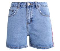 Jeans Shorts - mid blue denim
