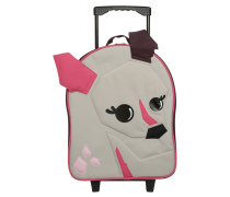 Trolley pink/white