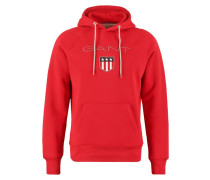 Kapuzenpullover thunder red