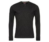 Langarmshirt charcoal marl/black