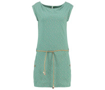 TAG C ORGANIC - Jerseykleid - dusty green