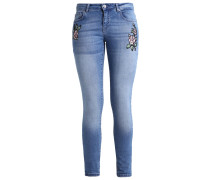 ONLCARMEN Jeans Slim Fit light blue denim