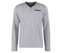 Langarmshirt light grey melanged