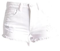 PAMELA Jeans Shorts white orchid wash