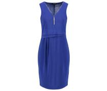 Jerseykleid bleu electrique