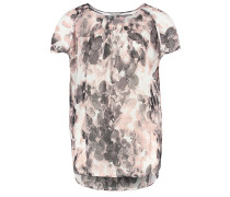 CAVIAYA Bluse artwork light pink