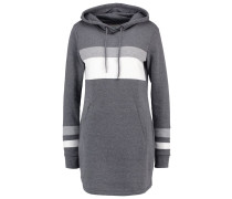 Jerseykleid dark grey/light grey