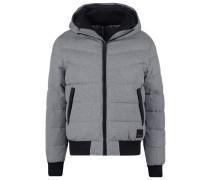 Winterjacke mottled grey