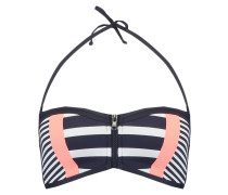 Bikini-Top - navy/white