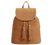 CARLA - Tagesrucksack - light brown