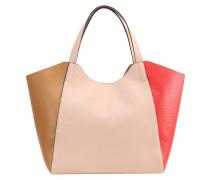 PERINE - Handtasche - cuoio/degas/rosso