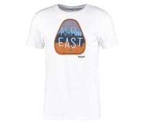 SLIM FIT TShirt print white