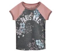 TShirt print pink/charcoal