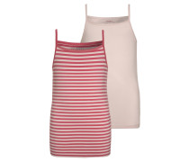 NITSTRAP 2 PACK Unterhemd / Shirt pink dogwood