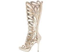 High Heel Stiefel - platino
