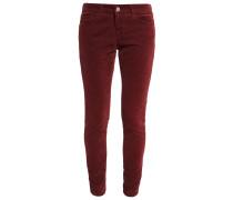 Stoffhose - maroon red
