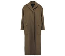 Wollmantel / klassischer Mantel khaki