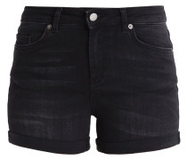 PCFIVE DELLY - Jeans Shorts - black