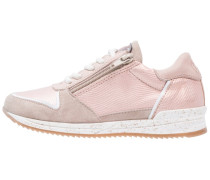 Sneaker low - peach