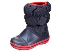 Stiefel navy/red