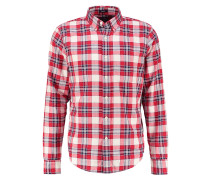 MUSCLE FIT Hemd red plaid