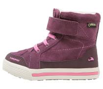 FOLDA GTX - Snowboot / Winterstiefel - aubergine/dark pink