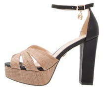 High Heel Sandaletten black