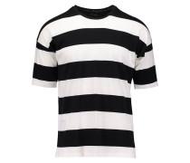 WESLEY - T-Shirt print - white/black