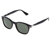 Sonnenbrille black/green