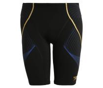 PINNACLE Badehosen Pants black/deep peri/global gold
