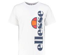 FISSORE TShirt print optic white