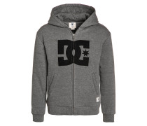 REBEL STAR - Sweatjacke - heather charcoal