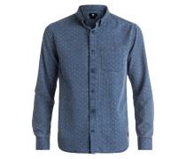 Hemd - blue artisanal print