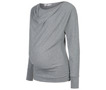 ALMIRA Strickpullover light grey melange
