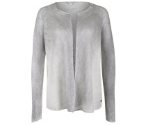 SPRAY - Strickjacke - silver