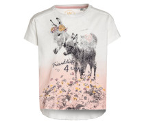 LITTLE FARM TShirt print ivory