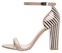 HYDE High Heel Sandaletten nude/black