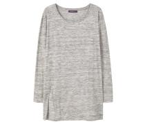 MENOS Langarmshirt light heather grey