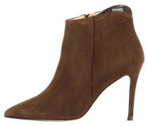 High Heel Stiefelette - braun