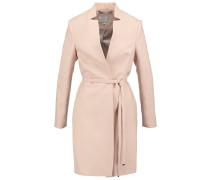 VIOLET Wollmantel / klassischer Mantel pastel peach