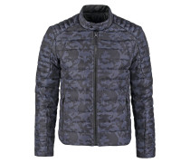 LEMAN Daunenjacke military grey/black