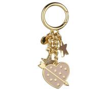 LUCKY CHARMS HEART - Schlüsselanhänger - soft pink