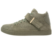 SASHIMI Sneaker high army green/gold