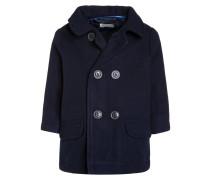 Wollmantel / klassischer Mantel dark blue