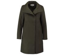 Wollmantel / klassischer Mantel moss green