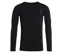 GYM SPORT Langarmshirt black