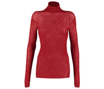 Strickpullover red rust
