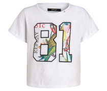 TShirt print optical white